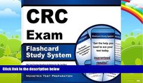 Big Deals  CRC Exam Flashcard Study System: CRC Test Practice Questions   Review for the Certified