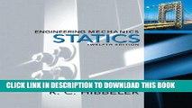 [PDF] Engineering Mechanics: Statics (12th Edition) Full Colection