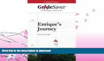 READ  GradeSaver (TM) ClassicNotes: Enrique s Journey  BOOK ONLINE