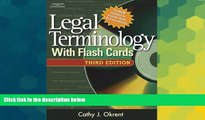 Big Deals  Legal Terminology with Flashcards (West Legal Studies)  Free Full Read Most Wanted
