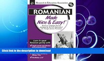 READ BOOK  Romanian Made Nice   Easy (Language Learning) FULL ONLINE