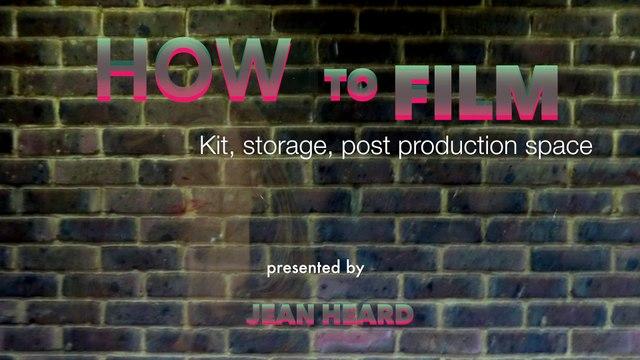 Kit used to film web series DORIS TV