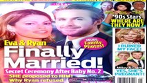 Ryan Gosling and Eva Mendes Are Married Photos of Ryan Gosling & Eva Mendes