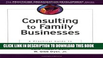 New Book Consulting to Family Businesses: Contracting, Assessment, and Implementation