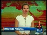 Ministra de Salud reacciona ante acusación a su sobrina de presunta estafa masiva