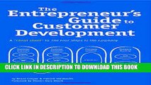 New Book The Entrepreneur s Guide to Customer Development: A cheat sheet to The Four Steps to the