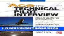 [PDF] Ace The Technical Pilot Interview 2/E Full Online