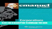 [PDF] Emanuel Law Outlines: Corporations and Other Business Entities, Seventh Edition [Full Ebook]