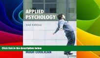 Big Deals  Applied Psychology (Hodder Arnold Publication) (A Hodder Arnold Publication)  Best