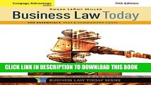 [PDF] Cengage Advantage Books: Business Law Today, The Essentials: Text and Summarized Cases