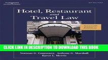 [PDF] Hotel, Restaurant, and Travel Law, 7th Edition Full Online