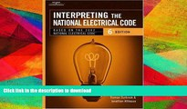 READ  Interpreting the National Electrical Code: Based on the 2002 National Electrical Code, 6th