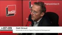 Gaël Giraud, économiste répond aux questions des auditeurs de France Inter