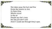 Shawn Mullins - Amy's Eyes Lyrics