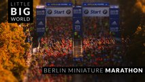 Berlin Miniature Marathon (4k -Time Lapse- Tilt Shift)