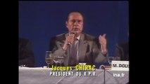 Jacques Chirac : « Le bruit et l'odeur... »