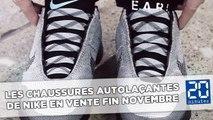 Les chaussures autolaçantes de Nike en vente fin novembre