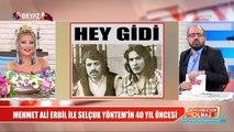 Mehmet Ali Erbil ve Selçuk Yöntem'in 40 yıl önceki fotoğrafı