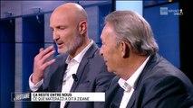 """VIDEO - """"Le Vestiaire"""" : Ce que dit Materazzi au médecin qui soigne Zidane en finale de la Coupe du Monde 2006 : """"Il est mort le vieux !"""""""