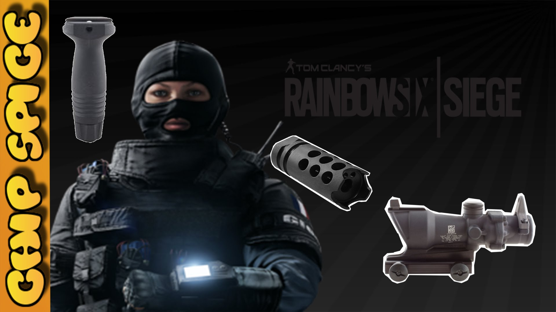 Rainbow 6 Siege Twitch Famas F2 best weapon attachment guide