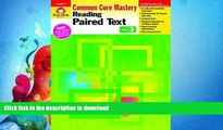 READ BOOK  Reading Paired Text, Grade 3 (Reading Paired Text: Common Core Mastery) FULL ONLINE