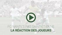 FCN-ASSE : la réaction des joueurs
