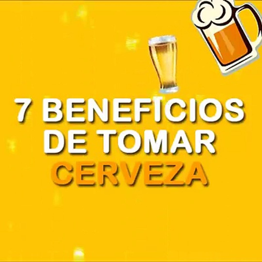 7 Beneficios De Tomar Cerveza Video Dailymotion