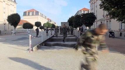 Les gendarmes en action