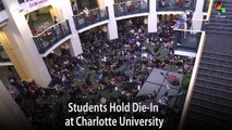 Students Hold Die-In at Charlotte University