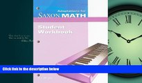 eBook Download Saxon Math Intermediate 4: Student Adaptation Workbook Adaptation