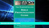 Big Deals  The HarperCollins Bible Pronunciation Guide  Best Seller Books Most Wanted