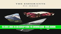 Collection Book The Emigrants (New Directions Paperbook)