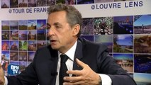 """Nicolas Sarkozy """"n'exclut pas"""", s'il était élu, un référendum sur l'Europe"""