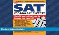 Enjoyed Read SAT Vocabulary Express: Word Puzzles Designed to Decode the New SAT