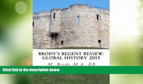 Big Deals  Brodys Regent Review: Global History 2015: Global regents review in less than 100 pages