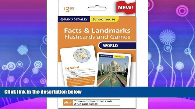 book online  Rand Mcnally Schoolhouse World Facts   Landmarks Flashcards And Games