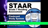 complete  STAAR Grade 7 Reading Assessment Flashcard Study System: STAAR Test Practice Questions