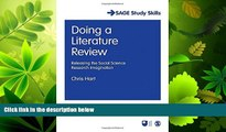 FAVORITE BOOK  Doing a Literature Review: Releasing the Social Science Research Imagination (SAGE