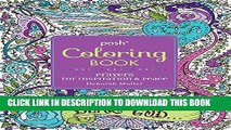 Collection Book Posh Adult Coloring Book: Prayers for Inspiration   Peace (Posh Coloring Books)