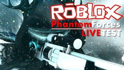 Live Test mit Aufnahme (22.09.2016) ROBLOX Phantom Forces