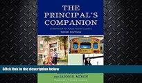 FAVORITE BOOK  The Principal s Companion: A Workbook for Future School Leaders