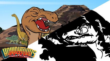 The Making of Dinosaurs are Drinking by the Water - Dinosaur Songs by Howdytoons