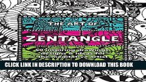 Collection Book The Art of Zentangle: 50 inspiring drawings, designs   ideas for the meditative