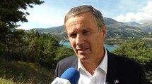 L'agriculture au coeur de la visite de Nicolas Dupont-Aignan dans le département des Hautes-Alpes