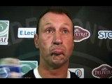 SITE OFFICIEL STADE MONTOIS RUGBY - INTERVIEW C. LAUSSUCQ - STADE MONTOIS vs AGEN