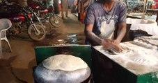 Tawa Roti | Flat Bread | Lahore Street Food II | Fast Worker