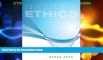 FREE PDF  Investment Ethics  BOOK ONLINE