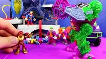 Imaginext Joker Dreams Of Destroying Batman Superman Spider-Man Wolverine And Captain America