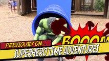 Spiderman Vs Spidergirl - Superhero Battle! w_ Hulk and Joker Superhero Time Adventures Episode 3_5!-r51UaCnaWcc part