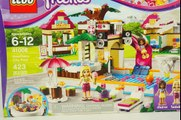 STOP Motion LEGO FRIENDS Heartlake City Pool Lego Friends Animation Super Fun Toys